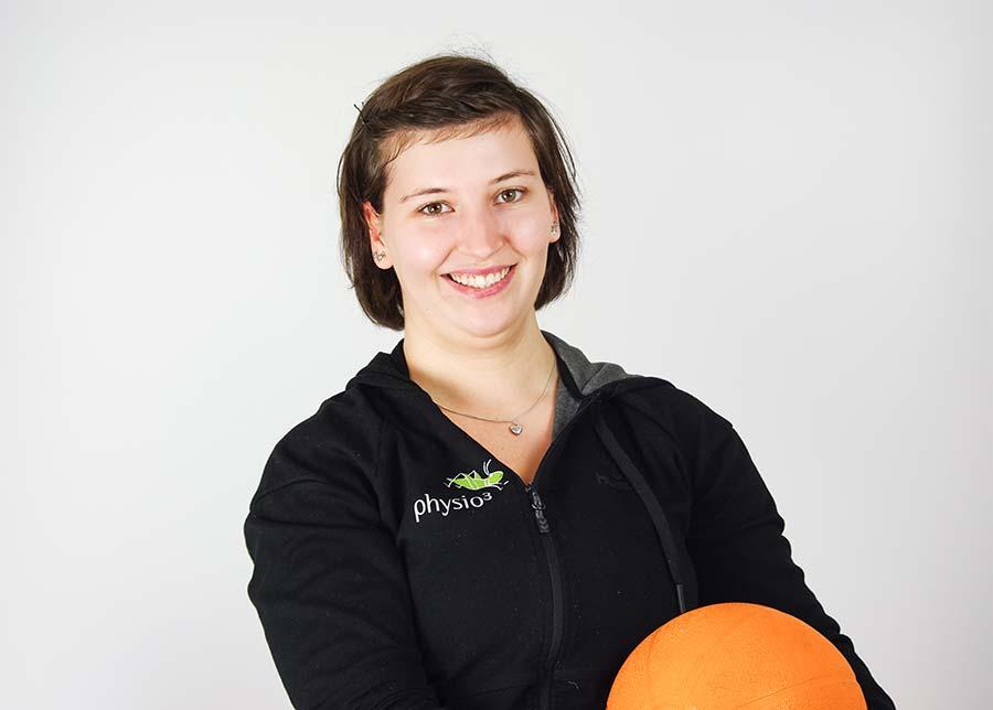 Physiotherapeutin Anna-Lena Jäger