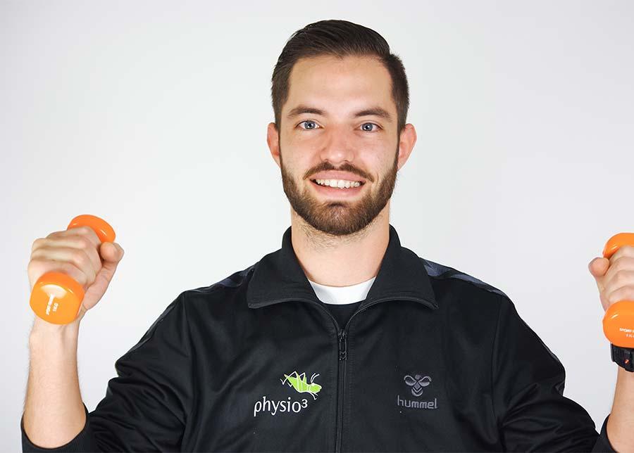 Physiotherapeut Cristian Ballweg
