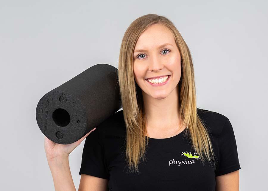 Trainerin Jessica Huebner
