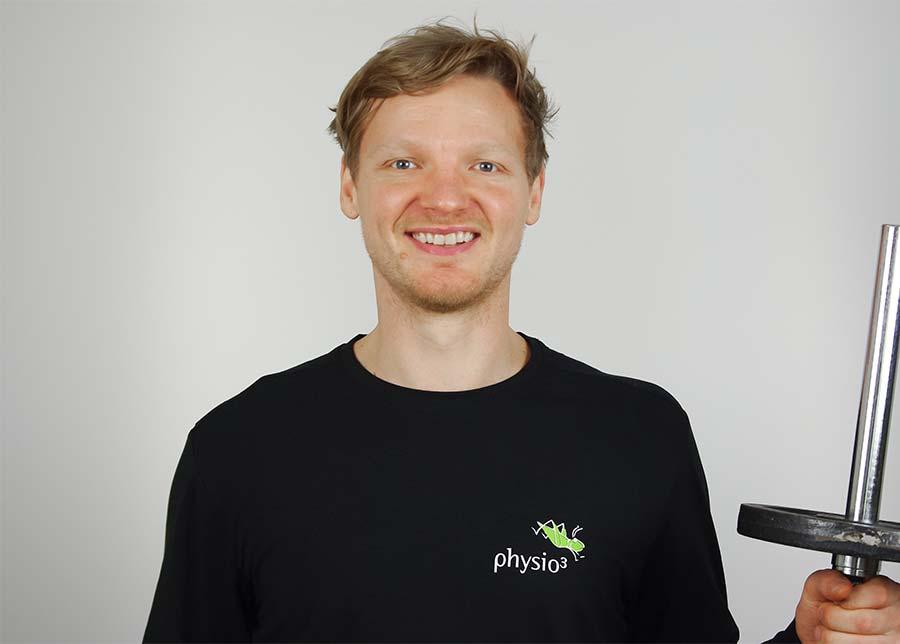 Physiotherapeut Josh Dake