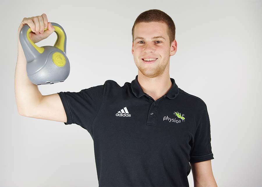 Physiotherapeut Lars Hein